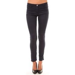 Clothing Women 5-pocket trousers Dress Code Pantalon C601 marine Blue