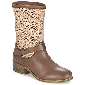 Shoes Women Mid boots Betty London CASTAGNO Brown