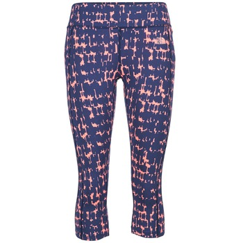 Clothing Women leggings The North Face PULSE CAPRI TIGHT Marine / Pink