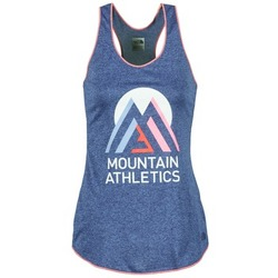 Clothing Women Tops / Sleeveless T-shirts The North Face GRAPHIC PLAY HARD Blue