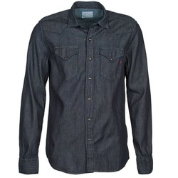 Clothing Men long-sleeved shirts Replay M4860N Grey