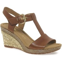 Shoes Women Sandals Gabor Karen Womens Modern Sandals brown