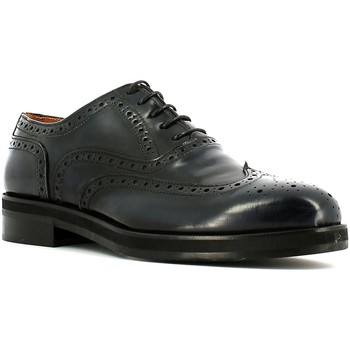 Shoes Men Brogues Rogers U481 Lace-up heels Man Blue Blue