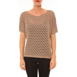Clothing Women jumpers La Vitrine De La Mode By La Vitrine Pull Carla taupe Brown
