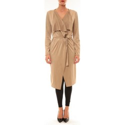 Clothing Women Jackets / Cardigans La Vitrine De La Mode By La Vitrine Cardigan asymétrique Nina beige Beige