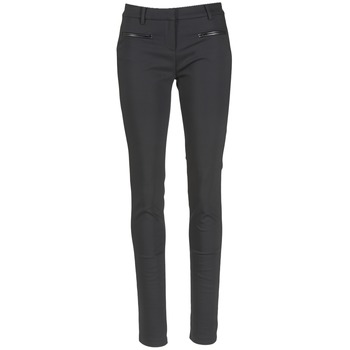 Clothing Women 5-pocket trousers Tommy Hilfiger MARTA Black