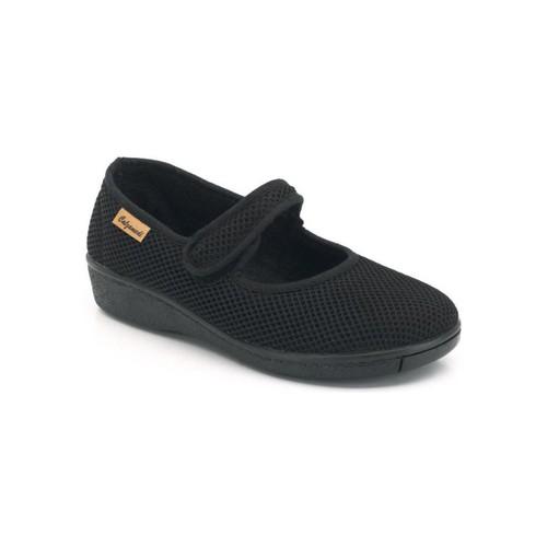Shoes Women Flat shoes Calzamedi Dancers for orthopedic insoles BLACK