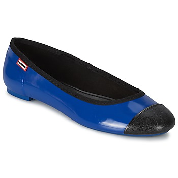 Shoes Women Flat shoes Hunter ORIGINAL BALLET FLAT Cobalt