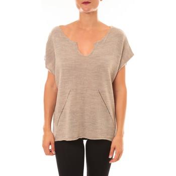 Clothing Women jumpers La Vitrine De La Mode By La Vitrine Pull Callie taupe Brown