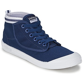 Shoes Men Hi top trainers Volley HIGH LEAP Navy / White