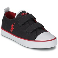 Shoes Children Low top trainers Ralph Lauren WHEREHAM LOW EZ Navy