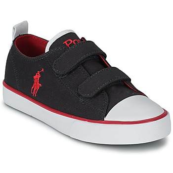 Shoes Children Low top trainers Polo Ralph Lauren WHEREHAM LOW EZ Blue