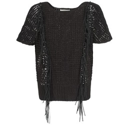 Clothing Women Jumpers Gaudi SILENE Black