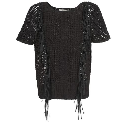 Clothing Women Jumpers Gaudi SILENE Black