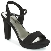 Shoes Women Sandals Tamaris CORVINA Black