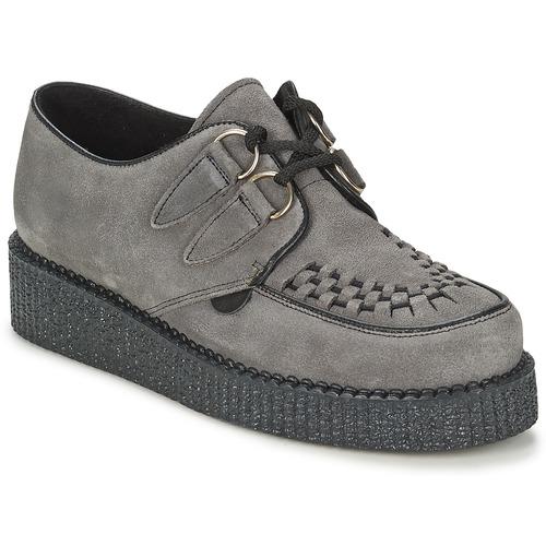 Shoes Women Derby Shoes Underground WULFRUN SUEDE Grey
