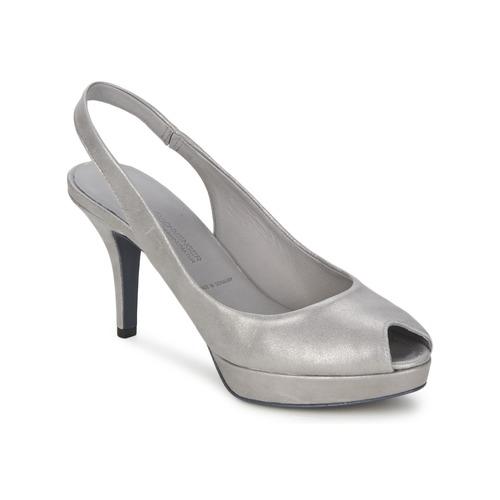 Shoes Women Heels Kennel + Schmenger FULDA Grey