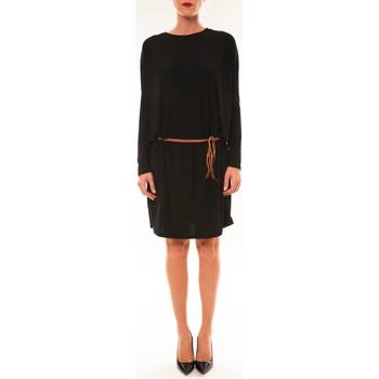 Clothing Women Short Dresses Dress Code Robe 53021 noir Black