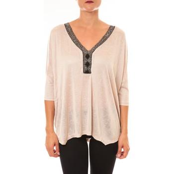 Clothing Women Tops / Blouses La Vitrine De La Mode By La Vitrine Top R5550 beige Beige