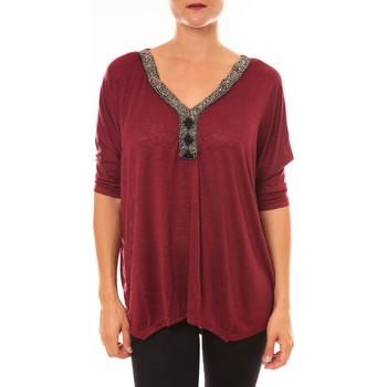 Clothing Women Tops / Blouses La Vitrine De La Mode By La Vitrine Top R5550 bordeaux Red