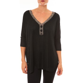 Clothing Women Tops / Blouses La Vitrine De La Mode By La Vitrine Top R5550 noir Black
