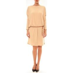 Clothing Women Short Dresses Dress Code Robe 53021 beige Beige
