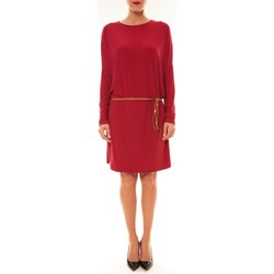 Clothing Women Short Dresses Dress Code Robe 53021 bordeaux Red