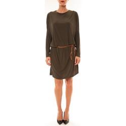 Clothing Women Short Dresses Dress Code Robe 53021 vert Green