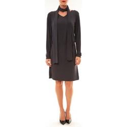 Clothing Women Short Dresses Dress Code Robe 88158 marine Blue