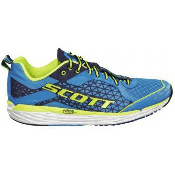 Shoes Men Running shoes Scott T2 Palani Road Running Shoes Blue/Green Mens