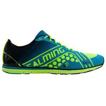 Shoes Men Running shoes Salming Race Shoe Cyan/Yellow Mens