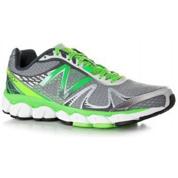 Shoes Men Rugby shoes New Balance 880 V4 Road Running Shoes Green/Silver (D WIDTH - STANDARD) Mens