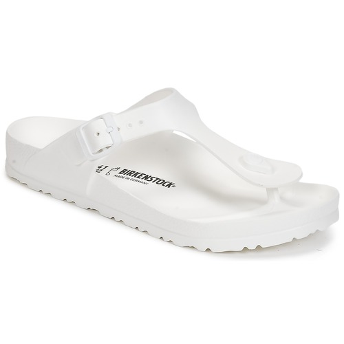 Shoes Women Flip flops Birkenstock GIZEH EVA White