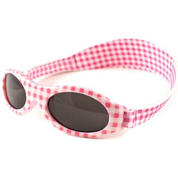Watches Children Sunglasses Baby Banz Kidz Banz Adventurer Sunglasses - Pink Gingham Pink