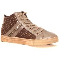 Shoes Women Hi top trainers Cassis Côte d'Azur Baskets Champion or Gold