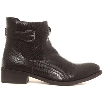 Shoes Women Mid boots Cassis Côte d'Azur Bottines Hiro noir Black
