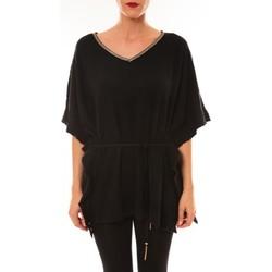 Clothing Women short-sleeved t-shirts La Vitrine De La Mode By La Vitrine Pull MC3120 noir Black