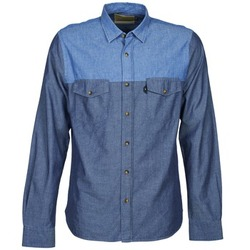 Clothing Men long-sleeved shirts Chevignon CL TINTO Blue