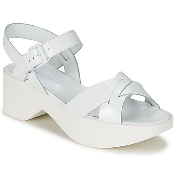 Shoes Women Sandals Stéphane Kelian FLASH 3 White