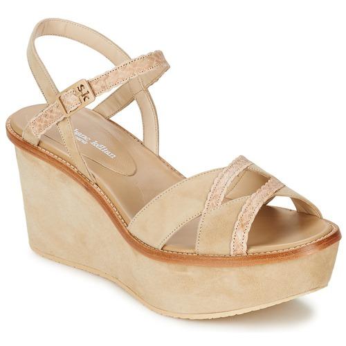 Shoes Women Sandals Stéphane Kelian BICHE 1 Beige
