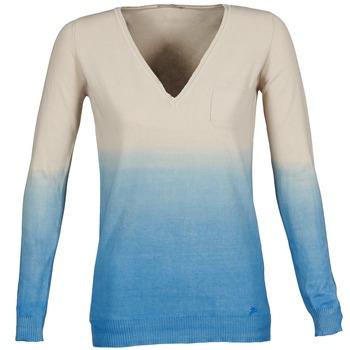 Clothing Women jumpers Gas DESHI BEIGE / Blue