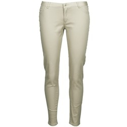 Clothing Women 5-pocket trousers Little Marcel PRANTI Beige