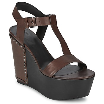 Shoes Women Sandals Vic GIBSON Brown