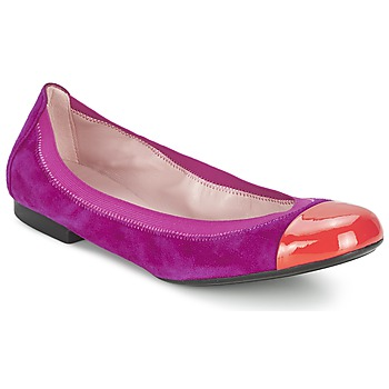 Shoes Women Flat shoes Pretty Ballerinas HONEY Purple