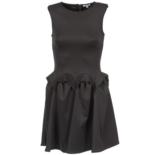 Clothing Women Short Dresses Brigitte Bardot BB44204 Black