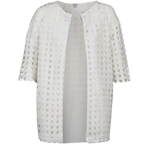 Clothing Women Coats Brigitte Bardot BB44197 White