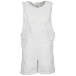 Clothing Women Jumpsuits / Dungarees Brigitte Bardot BB44084 White