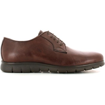 Shoes Men Walking shoes Soldini 19303 F Elegant shoes Man Marrone