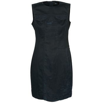 Clothing Women Short Dresses Diesel D-SIRY Black