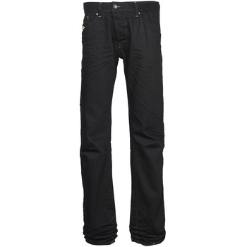 Clothing Men straight jeans Diesel DARRON Black